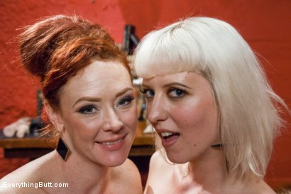 Photo number 15 from Cherry's Ultimate Anal Experience!!! shot for Everything Butt on Kink.com. Featuring Audrey Hollander and Cherry Torn in hardcore BDSM & Fetish porn.