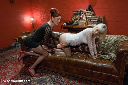 Photo number 2 from Cherry's Ultimate Anal Experience!!! shot for Everything Butt on Kink.com. Featuring Audrey Hollander and Cherry Torn in hardcore BDSM & Fetish porn.