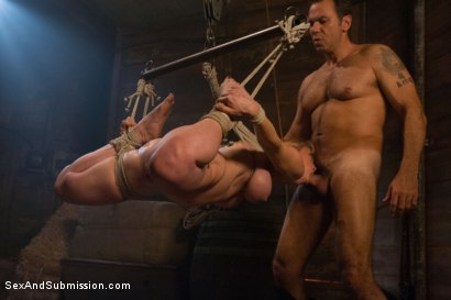 Photo number 11 from The Slave Auction: Darling Gets Ass Fucked in Strict Bondage!  shot for Sex And Submission on Kink.com. Featuring Dee Williams and Steven St. Croix in hardcore BDSM & Fetish porn.