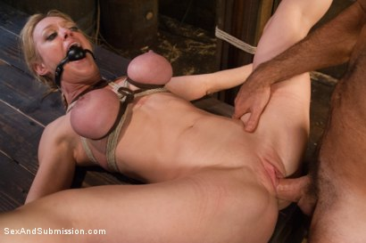 Photo number 14 from The Slave Auction: Darling Gets Ass Fucked in Strict Bondage!  shot for Sex And Submission on Kink.com. Featuring Dee Williams and Steven St. Croix in hardcore BDSM & Fetish porn.