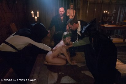 Photo number 2 from The Slave Auction: Darling Gets Ass Fucked in Strict Bondage!  shot for Sex And Submission on Kink.com. Featuring Dee Williams and Steven St. Croix in hardcore BDSM & Fetish porn.