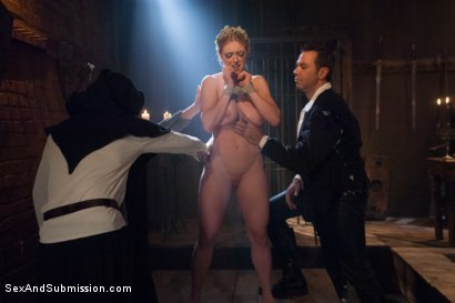 Photo number 3 from The Slave Auction: Darling Gets Ass Fucked in Strict Bondage!  shot for Sex And Submission on Kink.com. Featuring Dee Williams and Steven St. Croix in hardcore BDSM & Fetish porn.