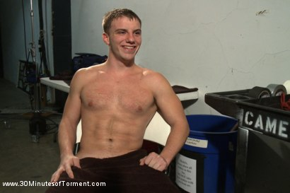 Photo number 15 from The Challenge for Doug Acre shot for 30 Minutes of Torment on Kink.com. Featuring Doug Acre in hardcore BDSM & Fetish porn.