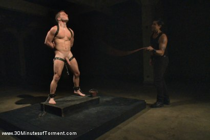 Photo number 6 from The Challenge for Doug Acre shot for 30 Minutes of Torment on Kink.com. Featuring Doug Acre in hardcore BDSM & Fetish porn.
