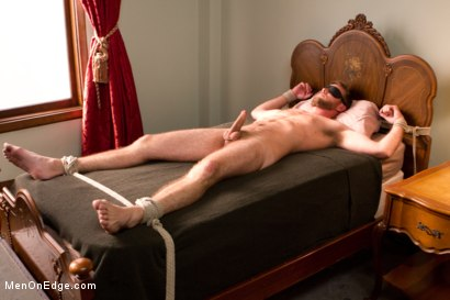 Photo number 12 from Hairy dude gets his uncut cock edged! shot for Men On Edge on Kink.com. Featuring Drake Temple in hardcore BDSM & Fetish porn.