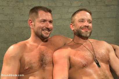 Photo number 15 from The Terrorist's Ransom shot for Bound Gods on Kink.com. Featuring Andrew Justice and Dirk Caber in hardcore BDSM & Fetish porn.