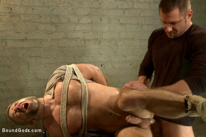 Photo number 5 from The Terrorist's Ransom shot for Bound Gods on Kink.com. Featuring Andrew Justice and Dirk Caber in hardcore BDSM & Fetish porn.