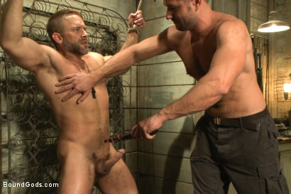 Photo number 8 from The Terrorist's Ransom shot for Bound Gods on Kink.com. Featuring Andrew Justice and Dirk Caber in hardcore BDSM & Fetish porn.