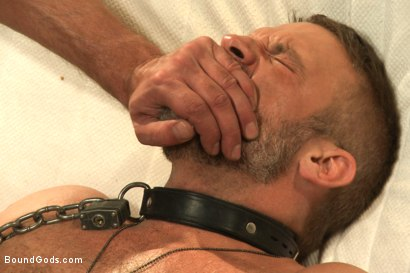Photo number 14 from The Terrorist's Ransom shot for Bound Gods on Kink.com. Featuring Andrew Justice and Dirk Caber in hardcore BDSM & Fetish porn.