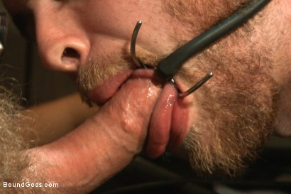 Photo number 10 from A new boy taken to the limits shot for Bound Gods on Kink.com. Featuring Adam Herst and Brandon Moore in hardcore BDSM & Fetish porn.