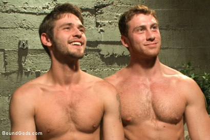 Photo number 15 from Fresh meat inmate for Officer Maguire shot for Bound Gods on Kink.com. Featuring Connor Maguire and Duncan Black in hardcore BDSM & Fetish porn.