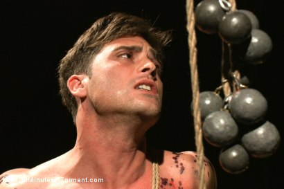 Photo number 6 from Straight hunk Lance Hart - The Wall - The Chair - The Water Chamber shot for 30 Minutes of Torment on Kink.com. Featuring Lance Hart in hardcore BDSM & Fetish porn.