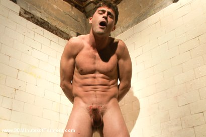Photo number 8 from Straight hunk Lance Hart - The Wall - The Chair - The Water Chamber shot for 30 Minutes of Torment on Kink.com. Featuring Lance Hart in hardcore BDSM & Fetish porn.