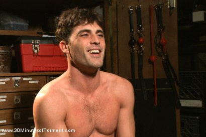 Photo number 15 from Straight hunk Lance Hart - The Wall - The Chair - The Water Chamber shot for 30 Minutes of Torment on Kink.com. Featuring Lance Hart in hardcore BDSM & Fetish porn.