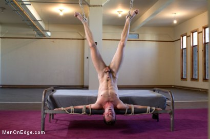 Photo number 11 from Brandon Moore edged and fucked by a Shockspot machine shot for Men On Edge on Kink.com. Featuring Brandon Moore in hardcore BDSM & Fetish porn.