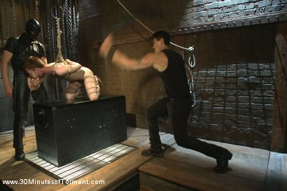 Photo number 14 from Seamus O'Reilly - The Pit - The Chair - The Gimp Room shot for 30 Minutes of Torment on Kink.com. Featuring Seamus O'Reilly in hardcore BDSM & Fetish porn.