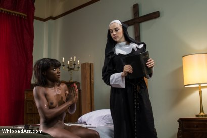 Photo number 6 from Filth and Sin shot for Whipped Ass on Kink.com. Featuring Chanel Preston and Ana Foxxx in hardcore BDSM & Fetish porn.