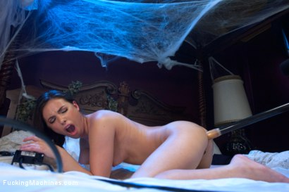 Photo number 6 from Sorority Girl Spends the Night in Abandoned, Haunted Acworth Bedroom! shot for Fucking Machines on Kink.com. Featuring Casey Calvert in hardcore BDSM & Fetish porn.