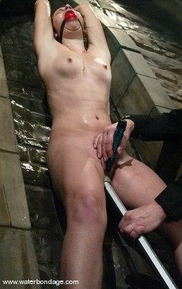 Photo number 2 from Sarah Blake shot for Water Bondage on Kink.com. Featuring Sarah Blake in hardcore BDSM & Fetish porn.
