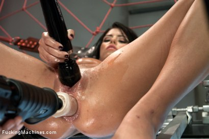 Photo number 9 from The Return of the Mega-Cummer shot for Fucking Machines on Kink.com. Featuring Adriana Chechik in hardcore BDSM & Fetish porn.