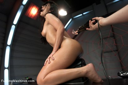 Photo number 13 from The Return of the Mega-Cummer shot for Fucking Machines on Kink.com. Featuring Adriana Chechik in hardcore BDSM & Fetish porn.
