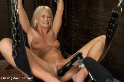 Photo number 5 from Southern Blonde Babe Straddles Machines & Cums like a bucking Filly! shot for Fucking Machines on Kink.com. Featuring Emily Austin in hardcore BDSM & Fetish porn.