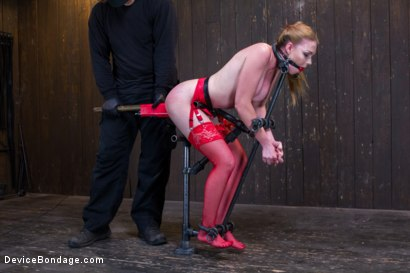Photo number 6 from Seeing Red shot for Device Bondage on Kink.com. Featuring Orlando and Marie McCray in hardcore BDSM & Fetish porn.