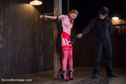 Photo number 1 from Seeing Red shot for Device Bondage on Kink.com. Featuring Orlando and Marie McCray in hardcore BDSM & Fetish porn.