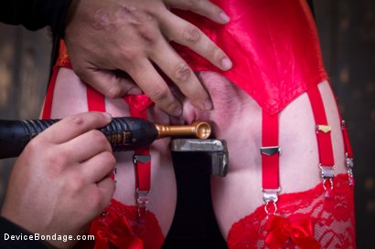 Photo number 3 from Seeing Red shot for Device Bondage on Kink.com. Featuring Orlando and Marie McCray in hardcore BDSM & Fetish porn.