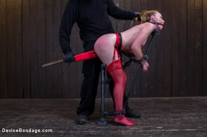 Photo number 5 from Seeing Red shot for Device Bondage on Kink.com. Featuring Orlando and Marie McCray in hardcore BDSM & Fetish porn.