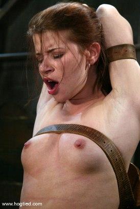 Photo number 14 from Sarah Blake shot for Hogtied on Kink.com. Featuring Sarah Blake in hardcore BDSM & Fetish porn.