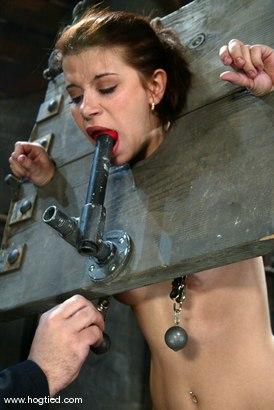 Photo number 6 from Sarah Blake shot for Hogtied on Kink.com. Featuring Sarah Blake in hardcore BDSM & Fetish porn.