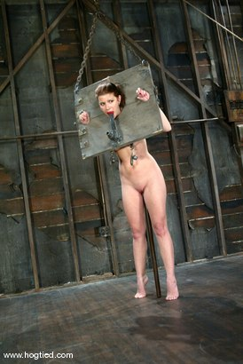 Photo number 7 from Sarah Blake shot for Hogtied on Kink.com. Featuring Sarah Blake in hardcore BDSM & Fetish porn.