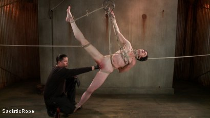 Newbie gets the full treatment! Extreme bondage and brutal torment!!!