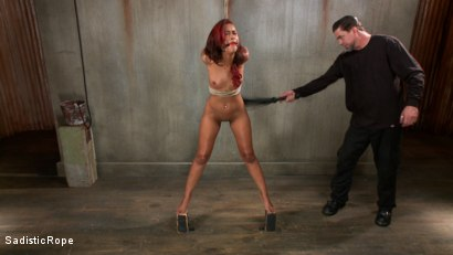 Photo number 13 from Skin Diamond's Suffering, The Pope's Satisfaction! shot for Sadistic Rope on Kink.com. Featuring Skin Diamond in hardcore BDSM & Fetish porn.