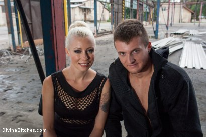 Photo number 1 from Eastern European Expeditions # 2: Teased and Denied Euro Slave Cock shot for Divine Bitches on Kink.com. Featuring Lorelei Lee and Ivo in hardcore BDSM & Fetish porn.
