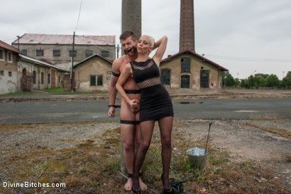 Photo number 15 from Eastern European Expeditions # 2: Teased and Denied Euro Slave Cock shot for Divine Bitches on Kink.com. Featuring Lorelei Lee and Ivo in hardcore BDSM & Fetish porn.