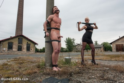Photo number 14 from Eastern European Expeditions # 2: Teased and Denied Euro Slave Cock shot for Divine Bitches on Kink.com. Featuring Lorelei Lee and Ivo in hardcore BDSM & Fetish porn.