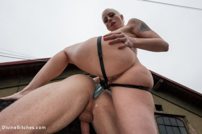 Photo number 6 from Eastern European Expeditions # 2: Teased and Denied Euro Slave Cock shot for Divine Bitches on Kink.com. Featuring Lorelei Lee and Ivo in hardcore BDSM & Fetish porn.