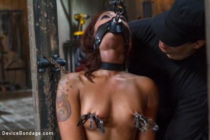 Photo number 2 from Rising from the ash <br>Skin Diamond is fucked brutal bondage!! shot for Device Bondage on Kink.com. Featuring Skin Diamond and Orlando in hardcore BDSM & Fetish porn.