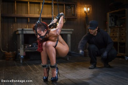 Photo number 5 from Rising from the ash <br>Skin Diamond is fucked brutal bondage!! shot for Device Bondage on Kink.com. Featuring Skin Diamond and Orlando in hardcore BDSM & Fetish porn.