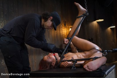 Photo number 8 from Rising from the ash <br>Skin Diamond is fucked brutal bondage!! shot for Device Bondage on Kink.com. Featuring Skin Diamond and Orlando in hardcore BDSM & Fetish porn.