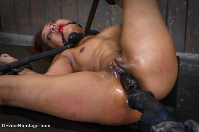 Photo number 10 from Rising from the ash <br>Skin Diamond is fucked brutal bondage!! shot for Device Bondage on Kink.com. Featuring Skin Diamond and Orlando in hardcore BDSM & Fetish porn.