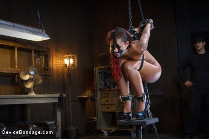 Photo number 12 from Rising from the ash <br>Skin Diamond is fucked brutal bondage!! shot for Device Bondage on Kink.com. Featuring Skin Diamond and Orlando in hardcore BDSM & Fetish porn.