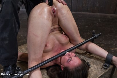 Photo number 10 from Double Teamed-Extreme Bondage,Brutal Suffering, and Squirting Orgasms shot for Device Bondage on Kink.com. Featuring Orlando and Casey Calvert in hardcore BDSM & Fetish porn.