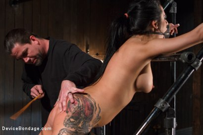 Photo number 9 from Wipe that smile off of your face, whore! shot for Device Bondage on Kink.com. Featuring Alexa Aimes in hardcore BDSM & Fetish porn.