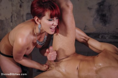 Photo number 13 from Maitresse Madeline Whips, Fucks and Teases Fresh Euro Meat shot for Divine Bitches on Kink.com. Featuring Chris Hollander and Maitresse Madeline Marlowe in hardcore BDSM & Fetish porn.