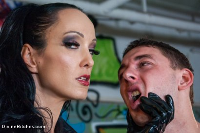 Photo number 13 from Introducing The FemDom Factory in Berlin and the Debut of Fetish Liza! shot for Divine Bitches on Kink.com. Featuring Fetish Liza and Enzo Bloom in hardcore BDSM & Fetish porn.