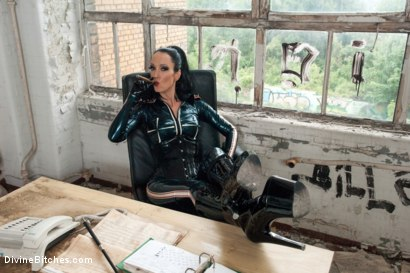 Photo number 15 from Introducing The FemDom Factory in Berlin and the Debut of Fetish Liza! shot for Divine Bitches on Kink.com. Featuring Fetish Liza and Enzo Bloom in hardcore BDSM & Fetish porn.