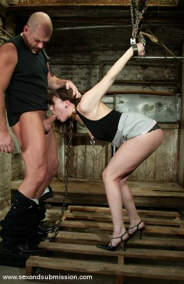 Photo number 4 from Mark Davis and Dana DeArmond shot for Sex And Submission on Kink.com. Featuring Mark Davis and Dana DeArmond in hardcore BDSM & Fetish porn.